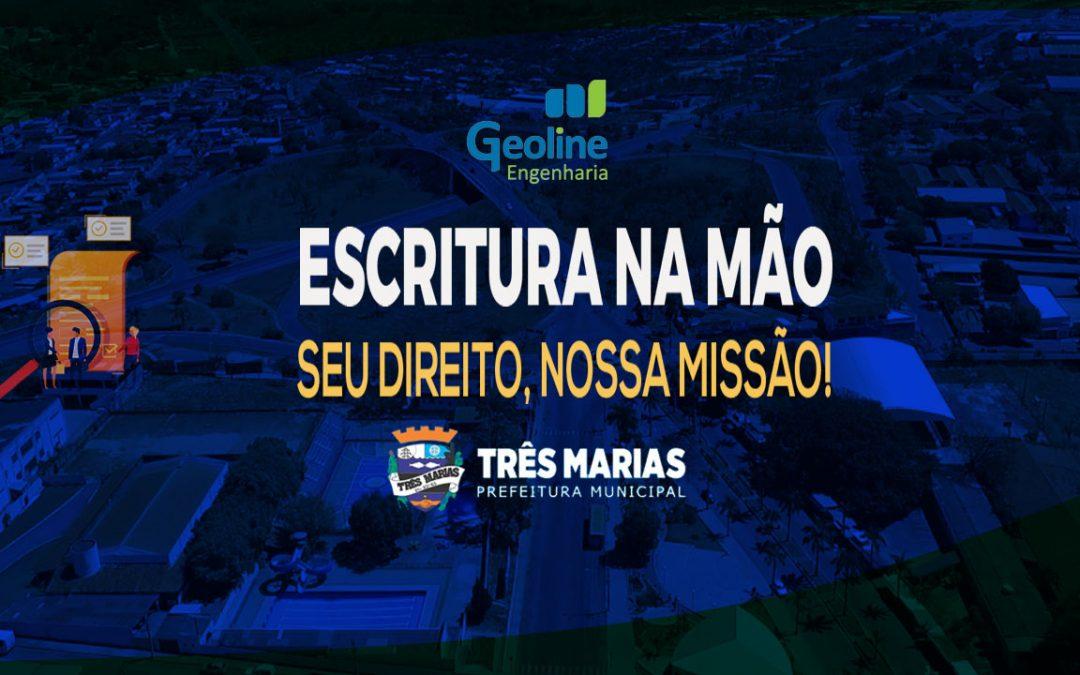 Geoline Engenharia Registra Demarcação Urbanística Do Bairro Novo Horizonte No Município De Três Marias/Minas Gerais