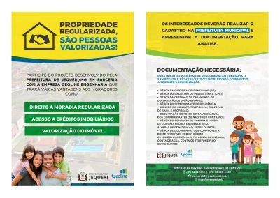 Regularização Fundiária no Municipio de Jequeri